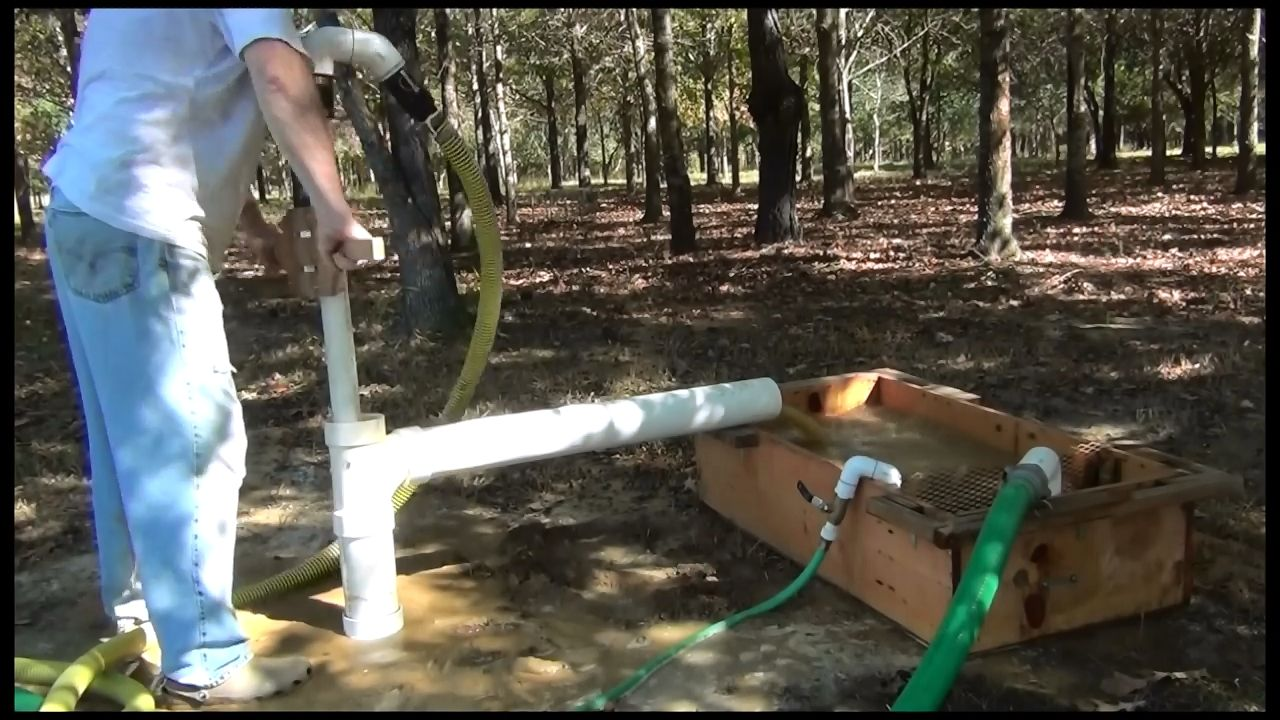 Cool Diy Video How To Drill Your Own Water Well Using A Diy Mud Pump And A Portable Mud Pit Practical Survivalist Water Well Drilling Water Well Diy Water