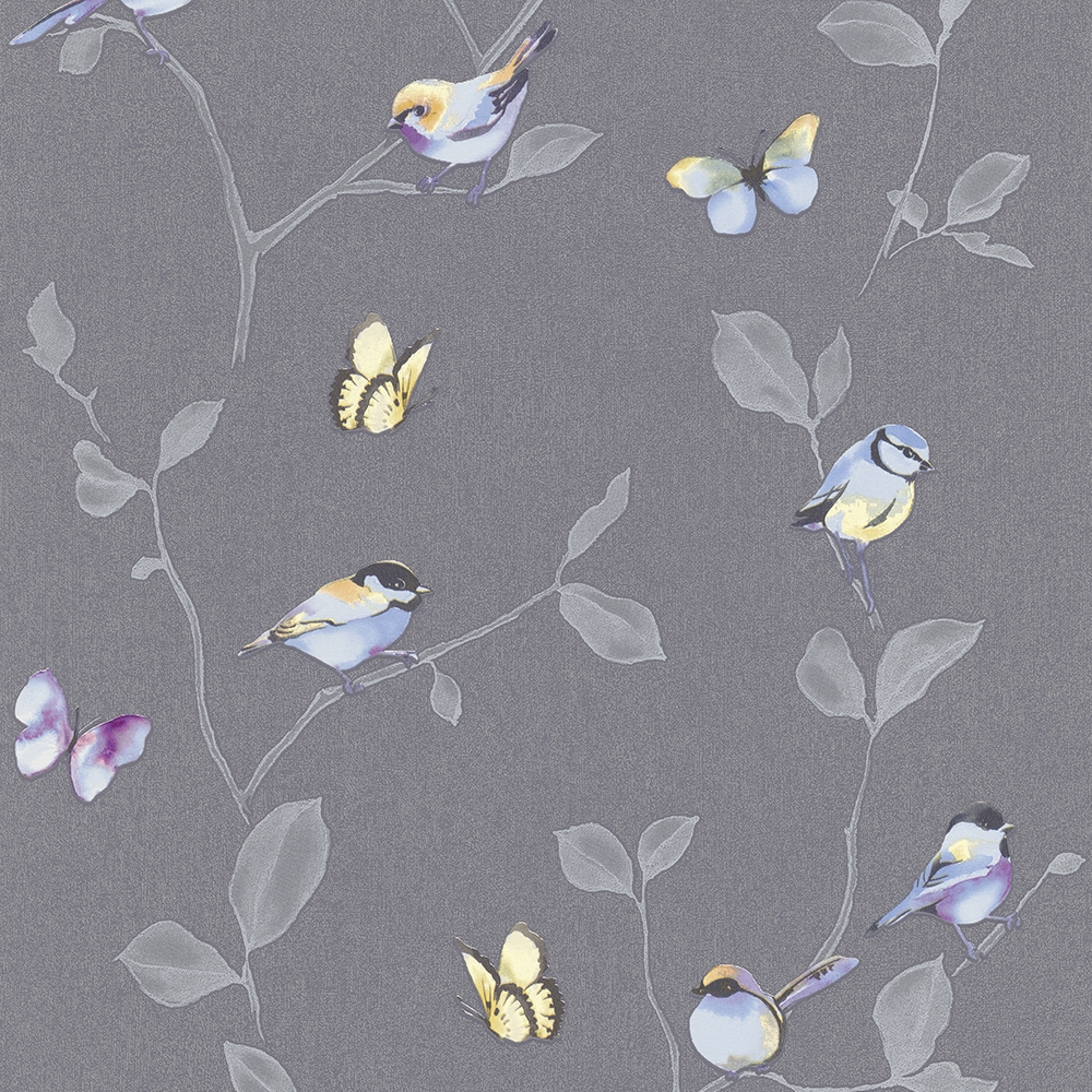650 Vliesova Tapeta Na Zed 6498 15 My Garden Erismann Bird Wallpaper Watercolor Hummingbird Bird Art
