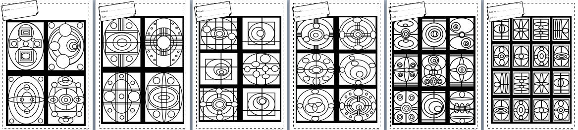 Turbo Coloriages, motricité fine, concentration, autonomie, CP, CE1, CE2  AT12