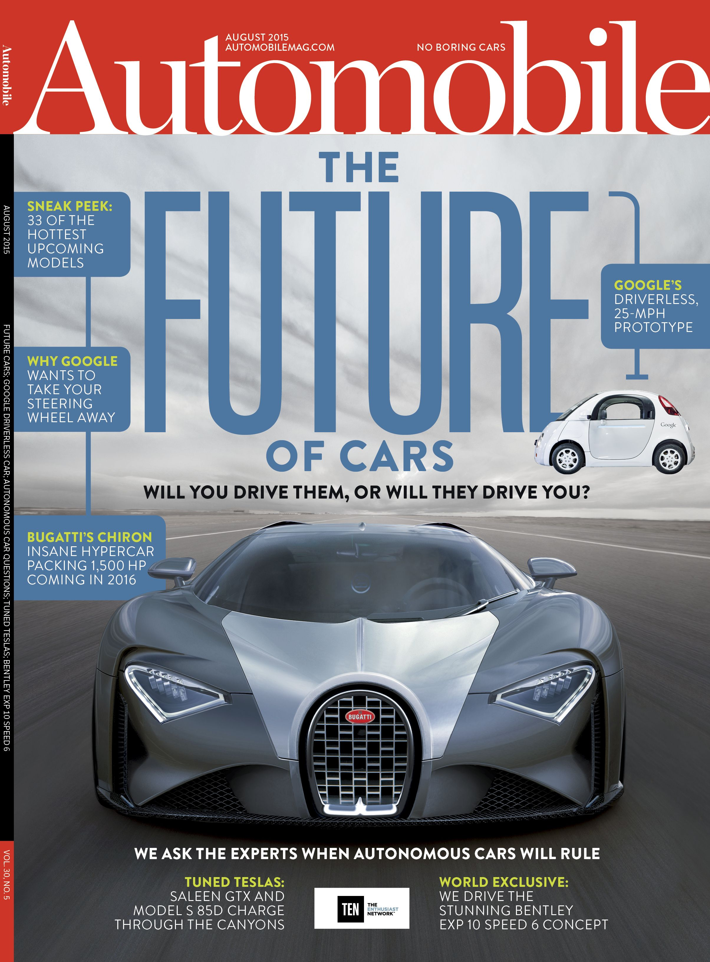 August 2015: Future Cars; Google Driveless Car; Autonomous Car ...