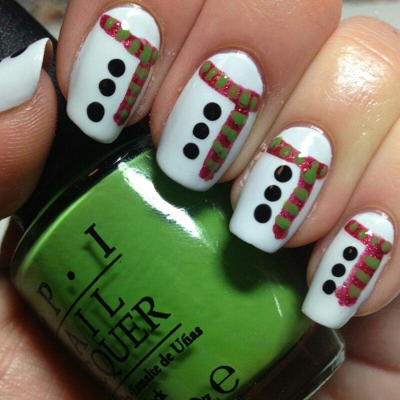 Pin de Candee Mason en Nail Art | Pinterest | Uñas navidad, Uñas ...