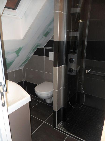 salle de bain sous le toit salle de bain Pinterest - Salle De Bains Nantes