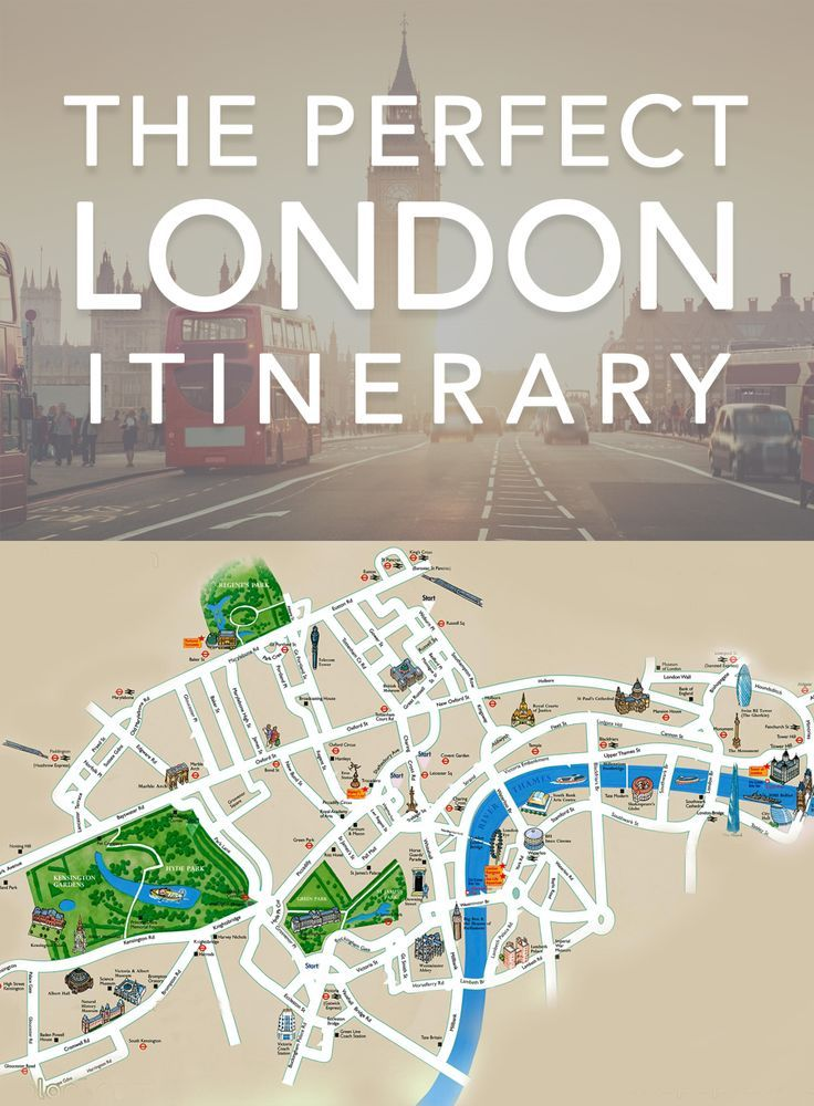 The Perfect London Itinerary Vacation travel Vacation and Explore