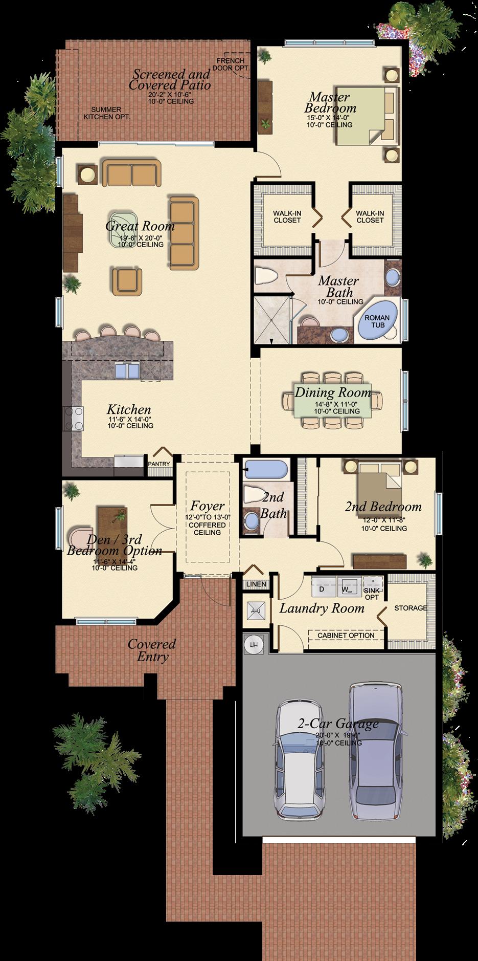 Gl Homes Floor Plans Florida