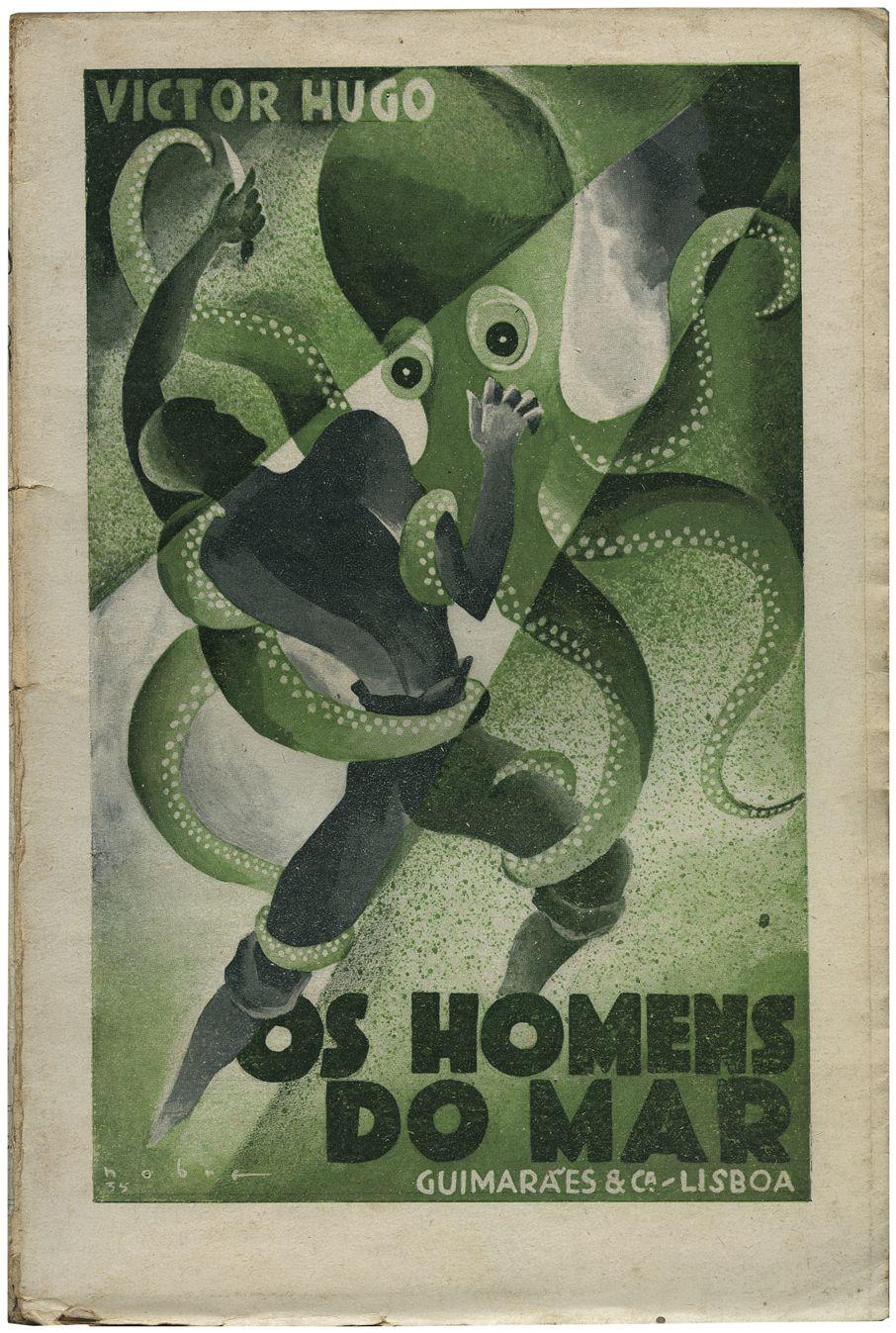 Une édition portugaise des Travailleurs de la mer 1935