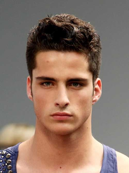 Curly Hairstyles for Men with Oval Faces