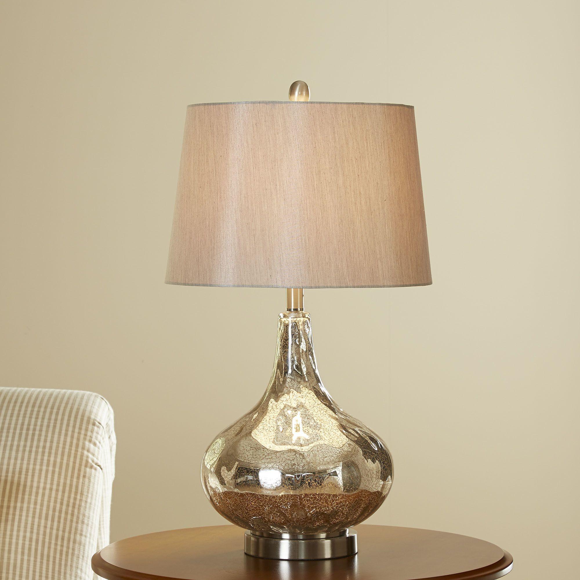 "Birch Lane Agatha 26"" H Table Lamp with Empire Shade"