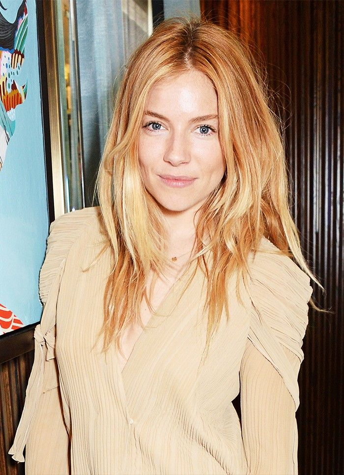 These 5 Colors Look Incredible On Blondes Sienna Miller Hair