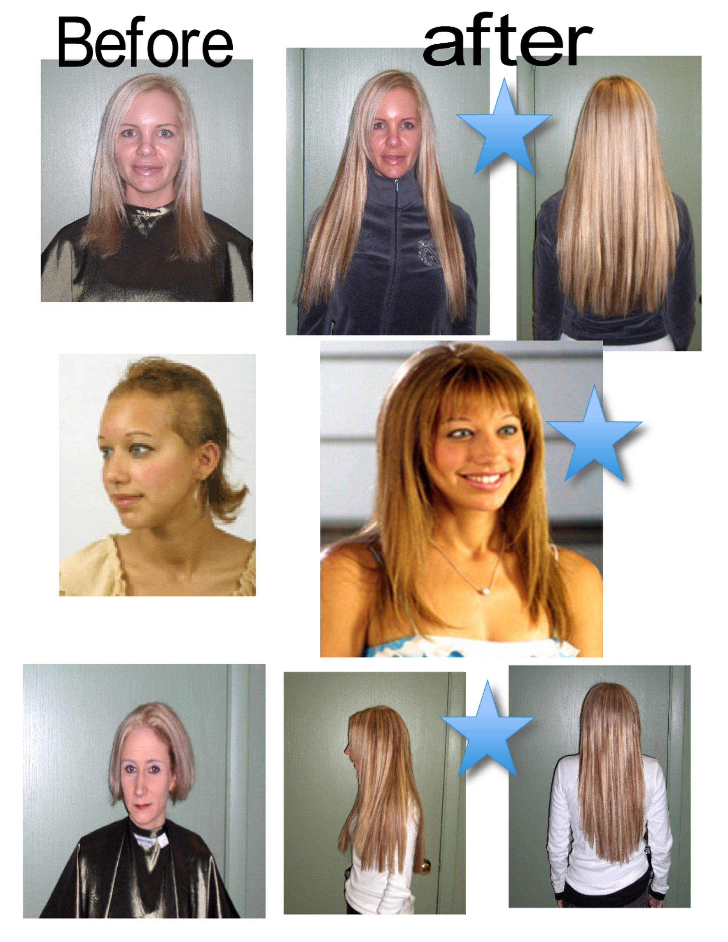 Here Are Some Of Our Clients Who Have Gotten Hair Extensions And