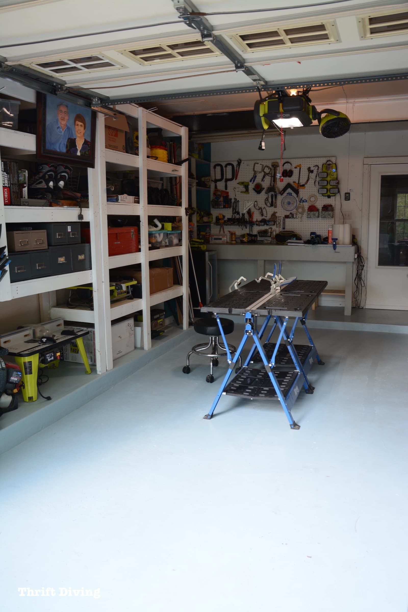 How To Paint Garage Floors With 1 Part Epoxy Paint In 2020 Garage Floor Paint Garage Floor Floor Paint Colors