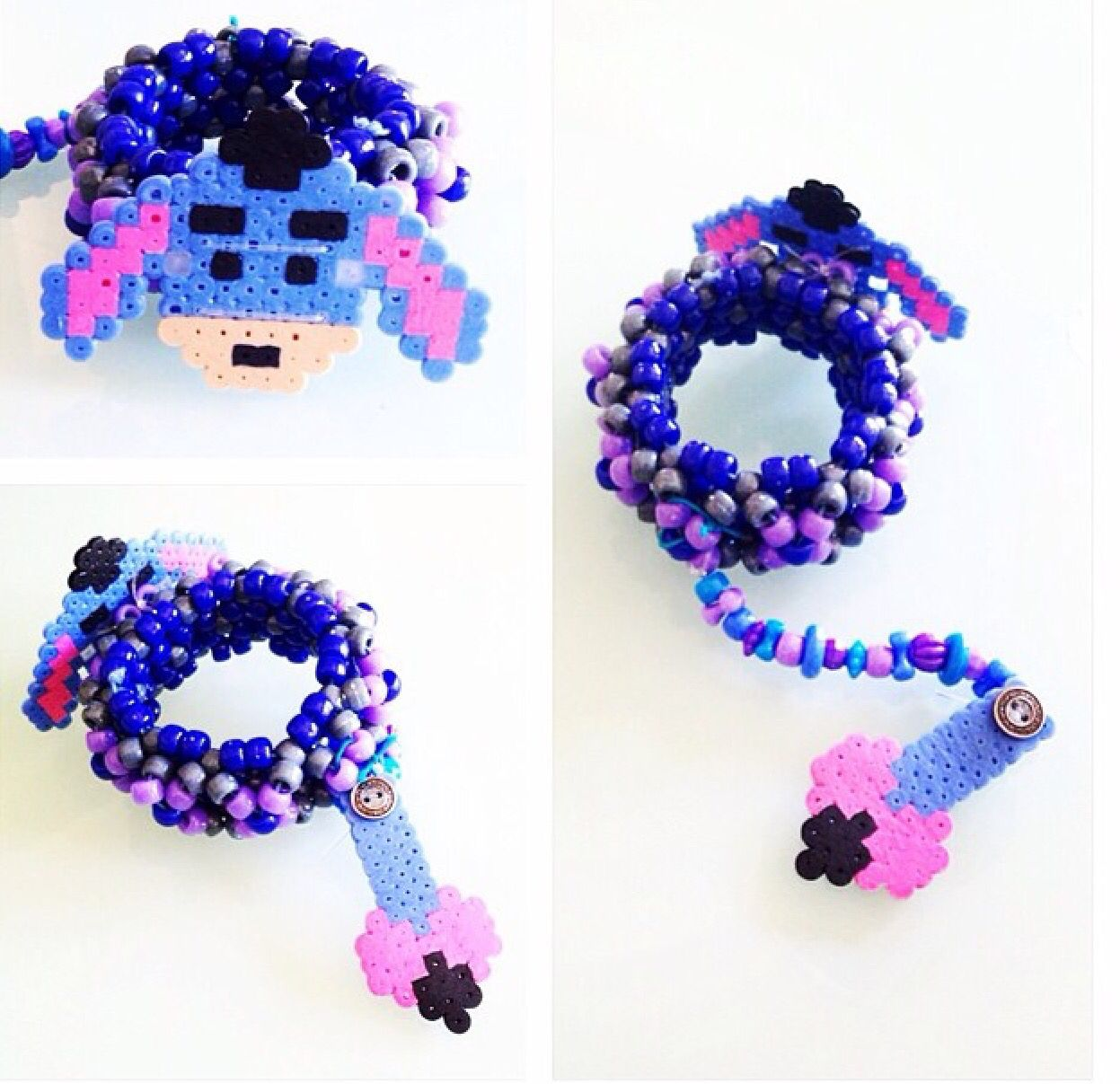 beaded bead to final perler bracelet wikihow make bracelets ways
