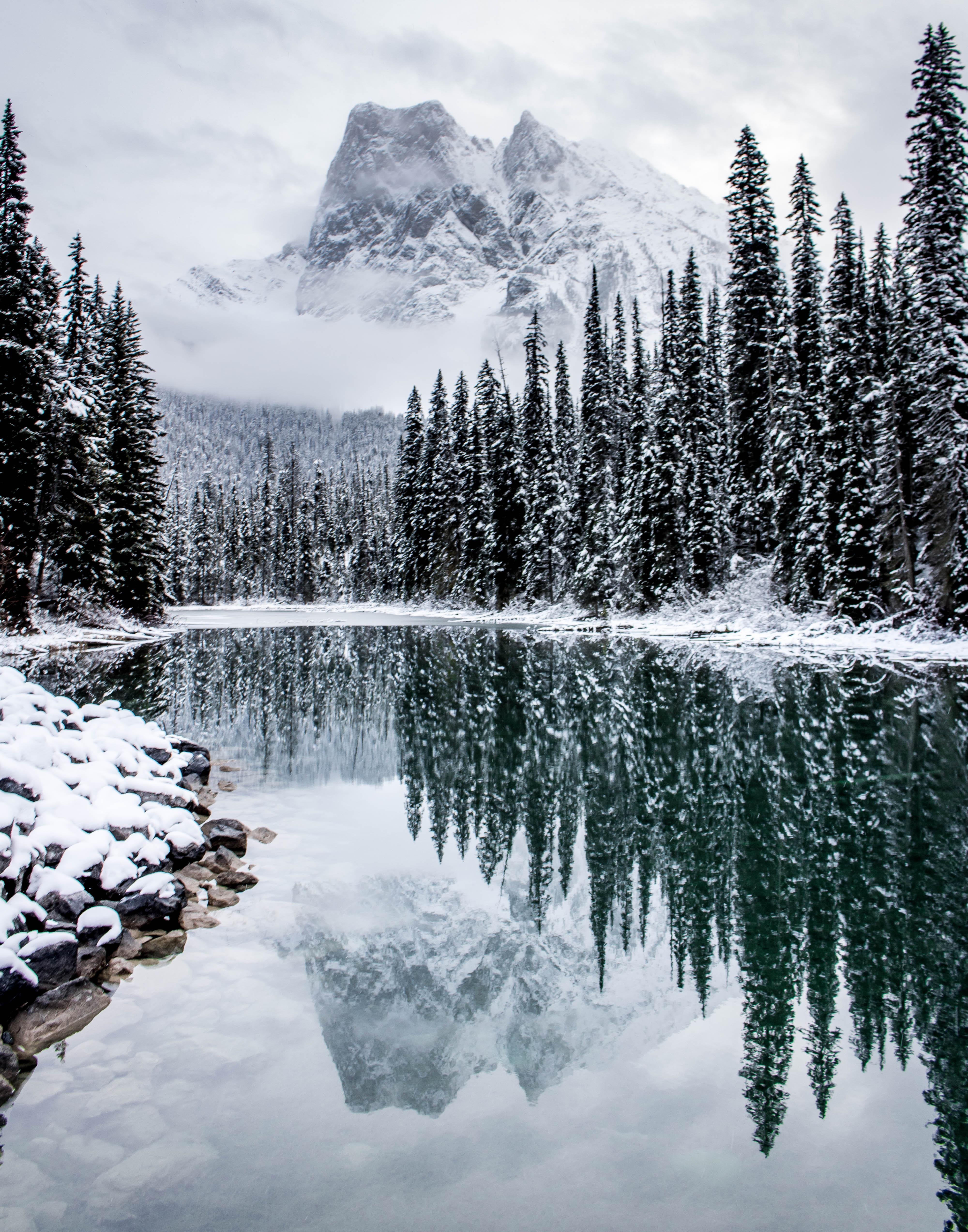 Inside A Snow Globe Emerald Lake Oc 4000x5093 Https Ift Tt 2ycvwxo Winter Scenery Winter Landscape Winter Nature