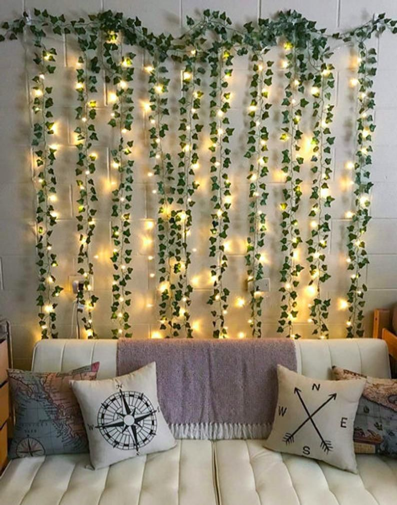 12 Strands (Each 7ft) Artificial Ivy Garland with