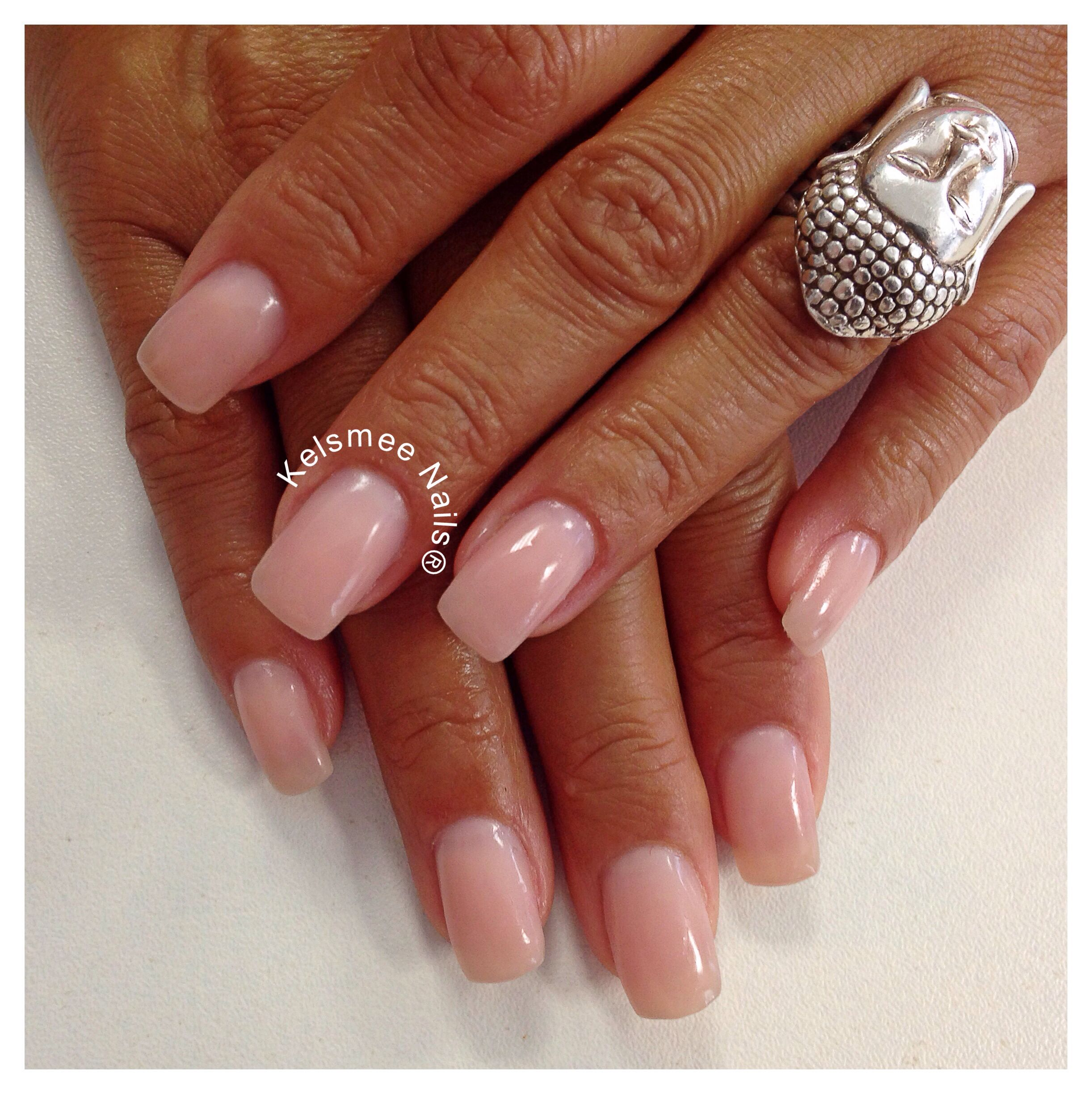 Young Nails French Pink Acrylic Best Nail Designs 2018