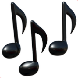 Http D2trtkcohkrm90 Cloudfront Net Mages Emoji Apple Os 10 256 Musical Notes Png Musical Notes Emoji U 1f3b6 Music Emoji Friends Emoji Rainbow Music