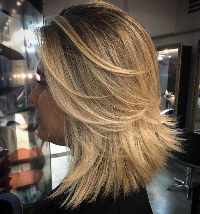 70 Brightest Medium Layered Haircuts To Light You Up Razored Bob