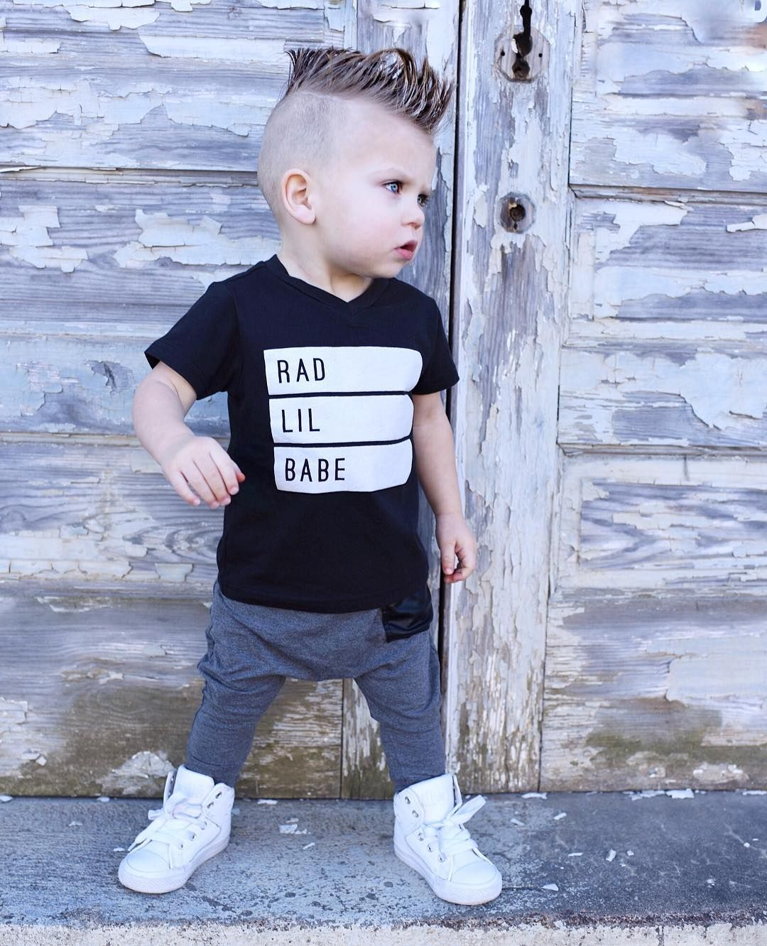 3609883a9a776 RAD BABE T-Shirt, Bamboo Harems, Bamboo Leggings, Baby Leggings, Faux  Leather, Trendy Baby Clothes, Hipster Baby Clothes, Streetwear, Kids Fashion