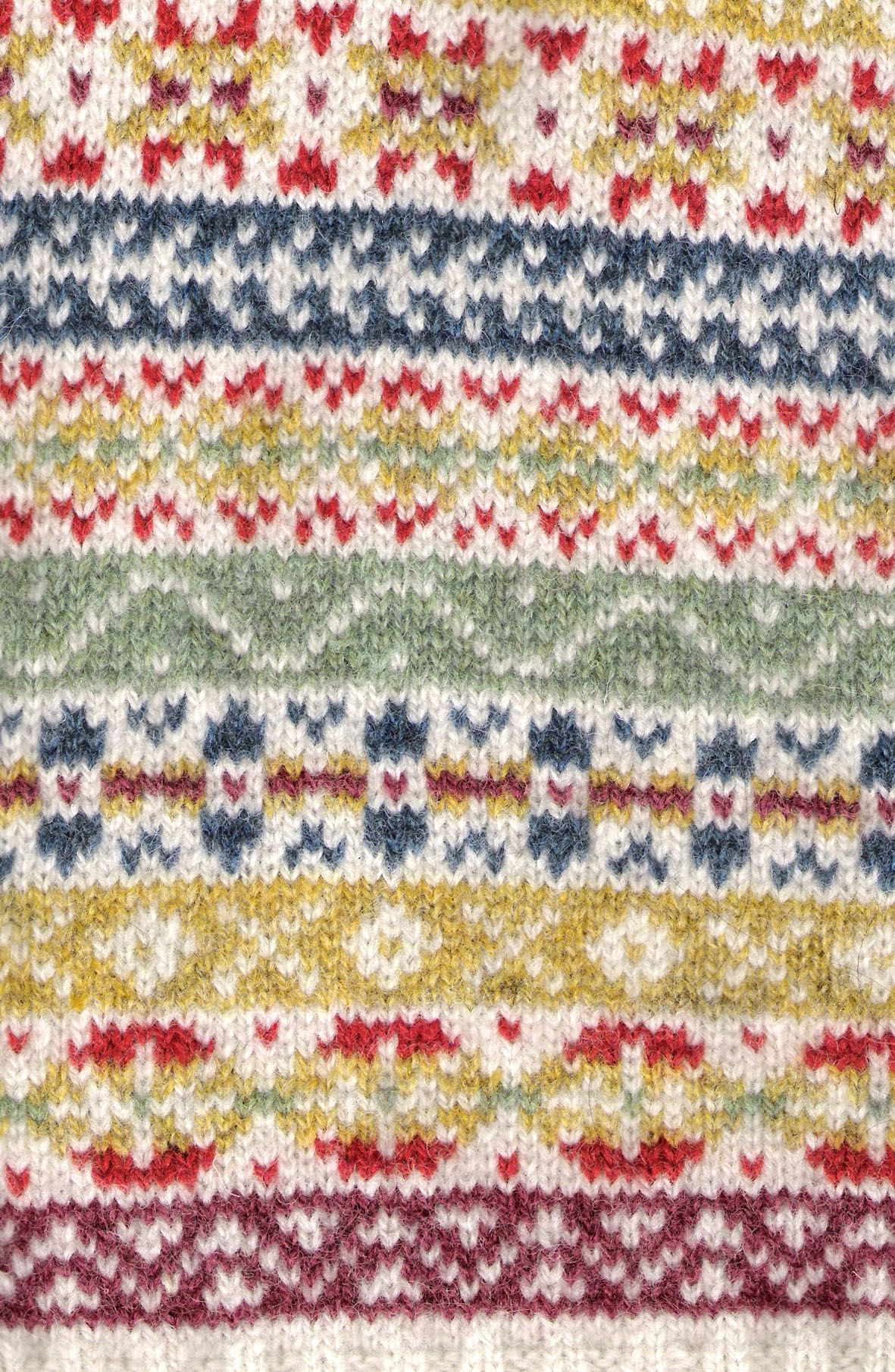 For an incredible source of colour and pattern combinations! Fairisle!
