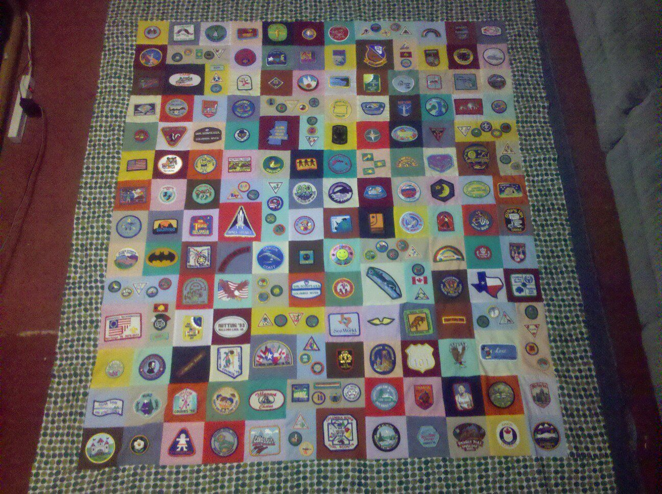what to do with old girl scout patches