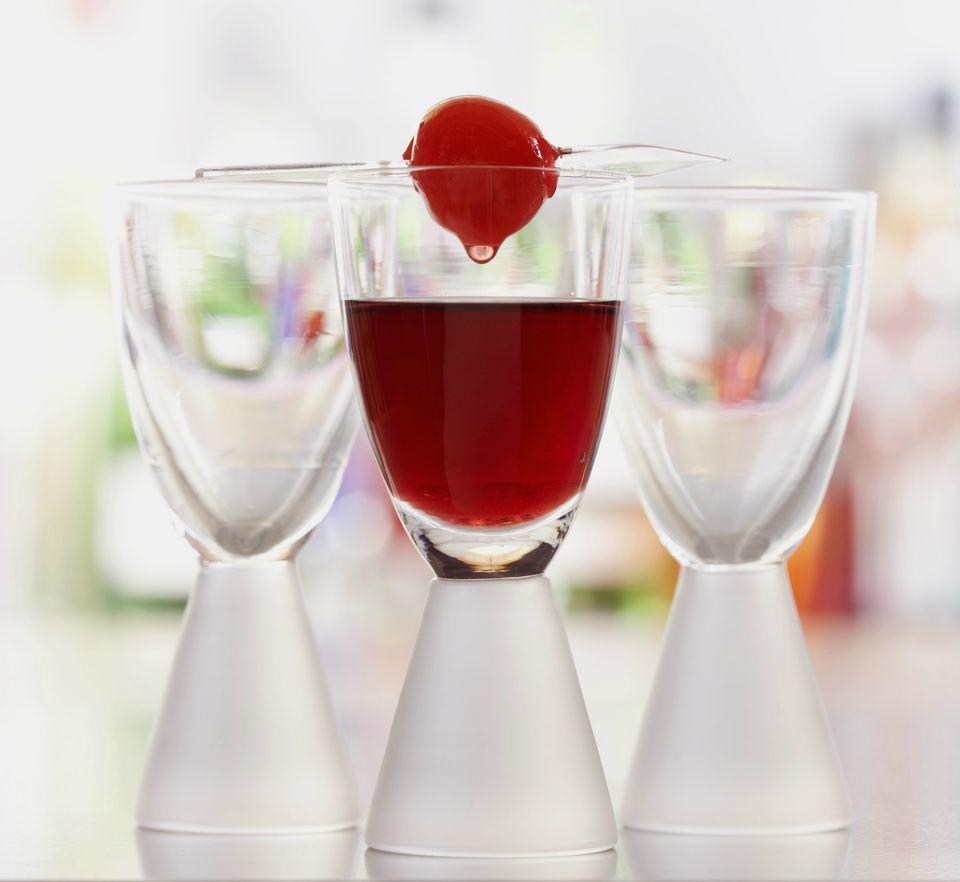 A Berry Sweet Vodka Shot For Your Next Party