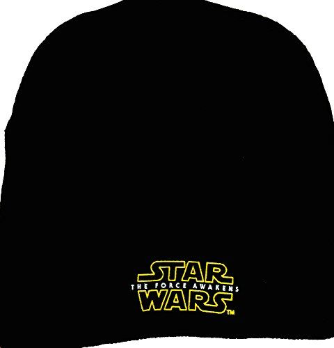 7857e7df3de Star Wars the Force Awakens Knit Beanie Biggest Star Wars Fan Novelty  Beanies   Price