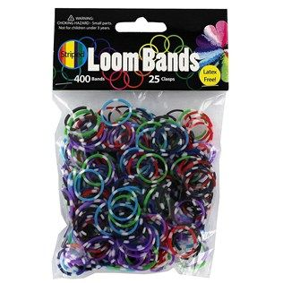 Striped Loom Bands | Shop Hobby Lobby