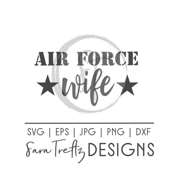 Download Air Force wife SVG, military wife svg, military pride ...