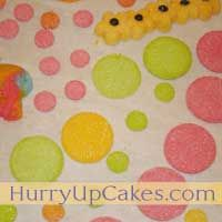 Homemade Pressed Sugar Wafers (cake decorations)