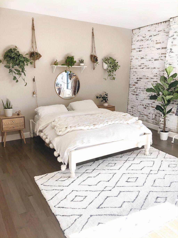 Pin By Ha Trinh On Bedroom Decor Boho Bedroom Design Minimalist Bedroom Decor Minimalist Bedroom Design Minimalist room colors gif