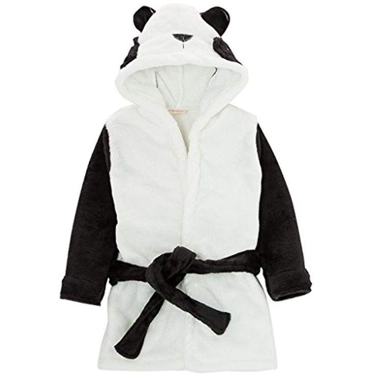 87119b5723ad1 Enfants peignoir robe de chambre bambin serviette à capuchon bébé chemise  de nuit en flanelle robe