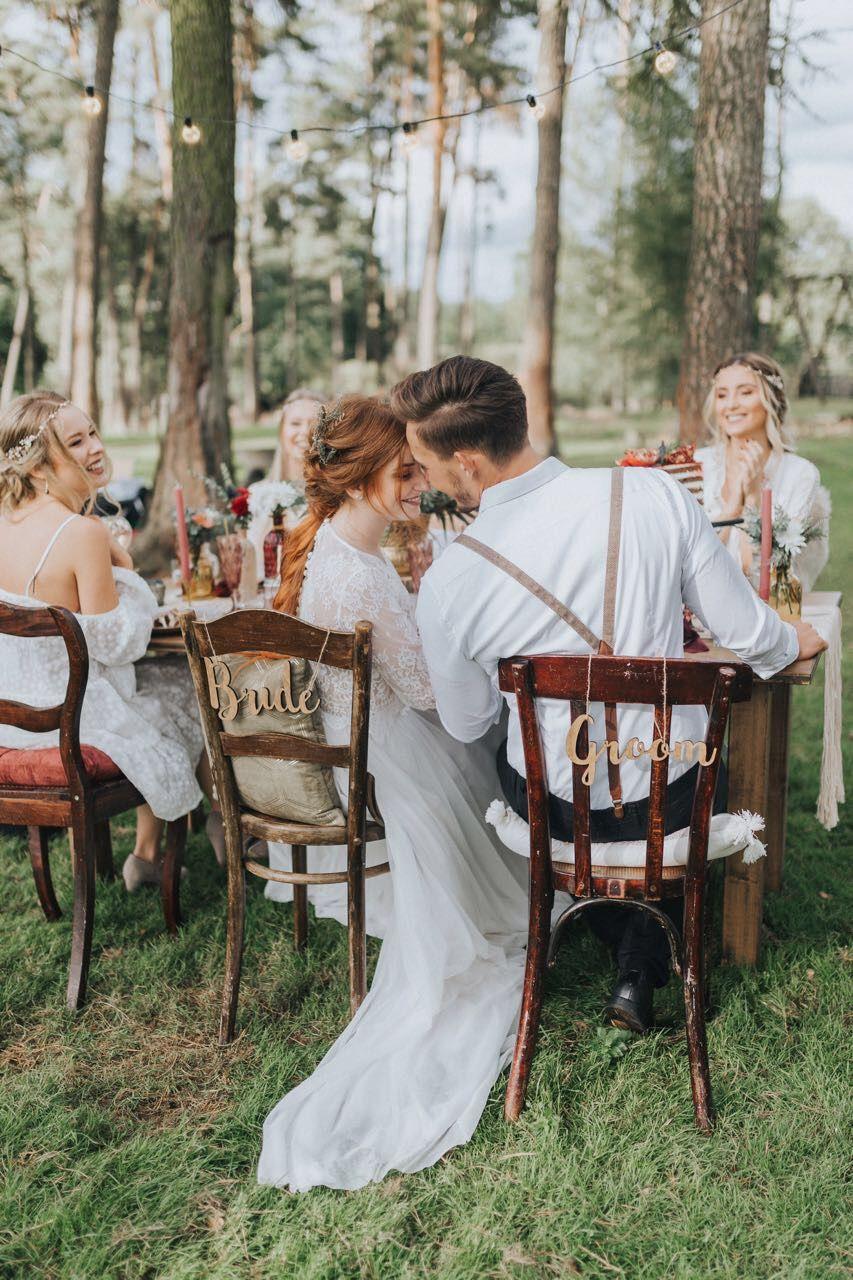 Boho Brautkleid Zweiteiler Vintage Hochzeitskleid Our Work