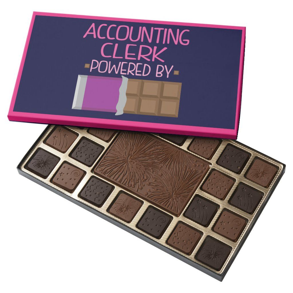 Accounting Clerk Chocolate Gift for Woman