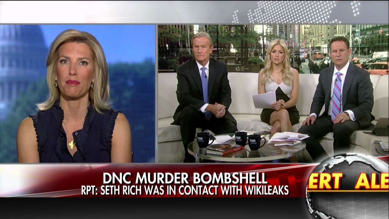 Ingraham On Seth Rich Wikileaks Report Where S The Follow Up On
