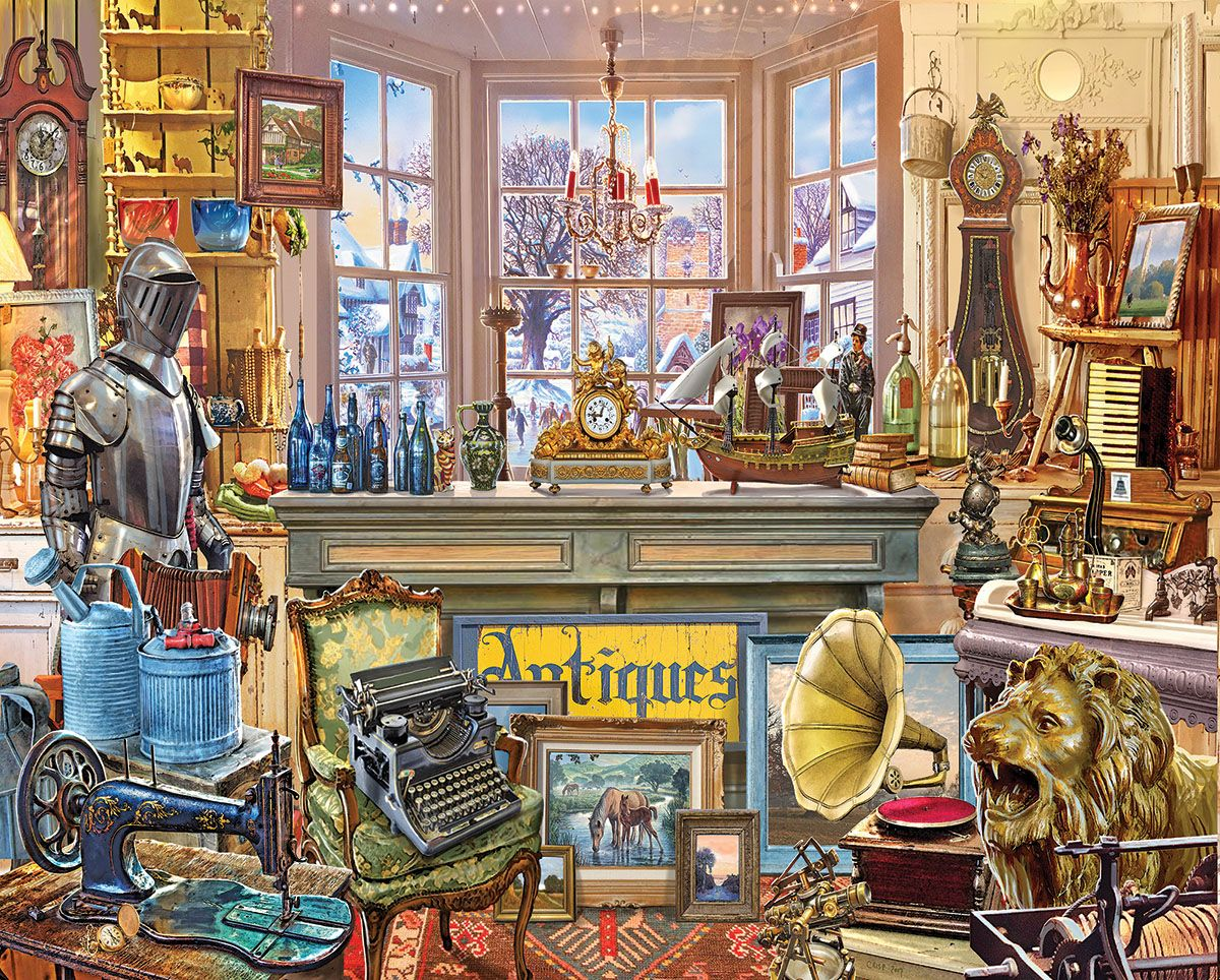 Antique Store In 2019 Puzzles 1000 Piece Jigsaw