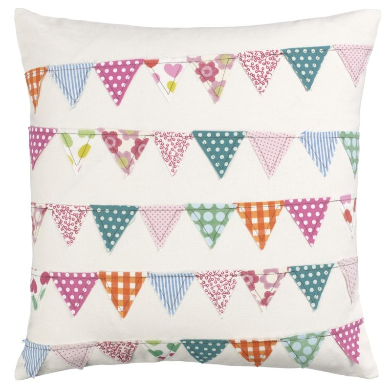bunting banner pillow case