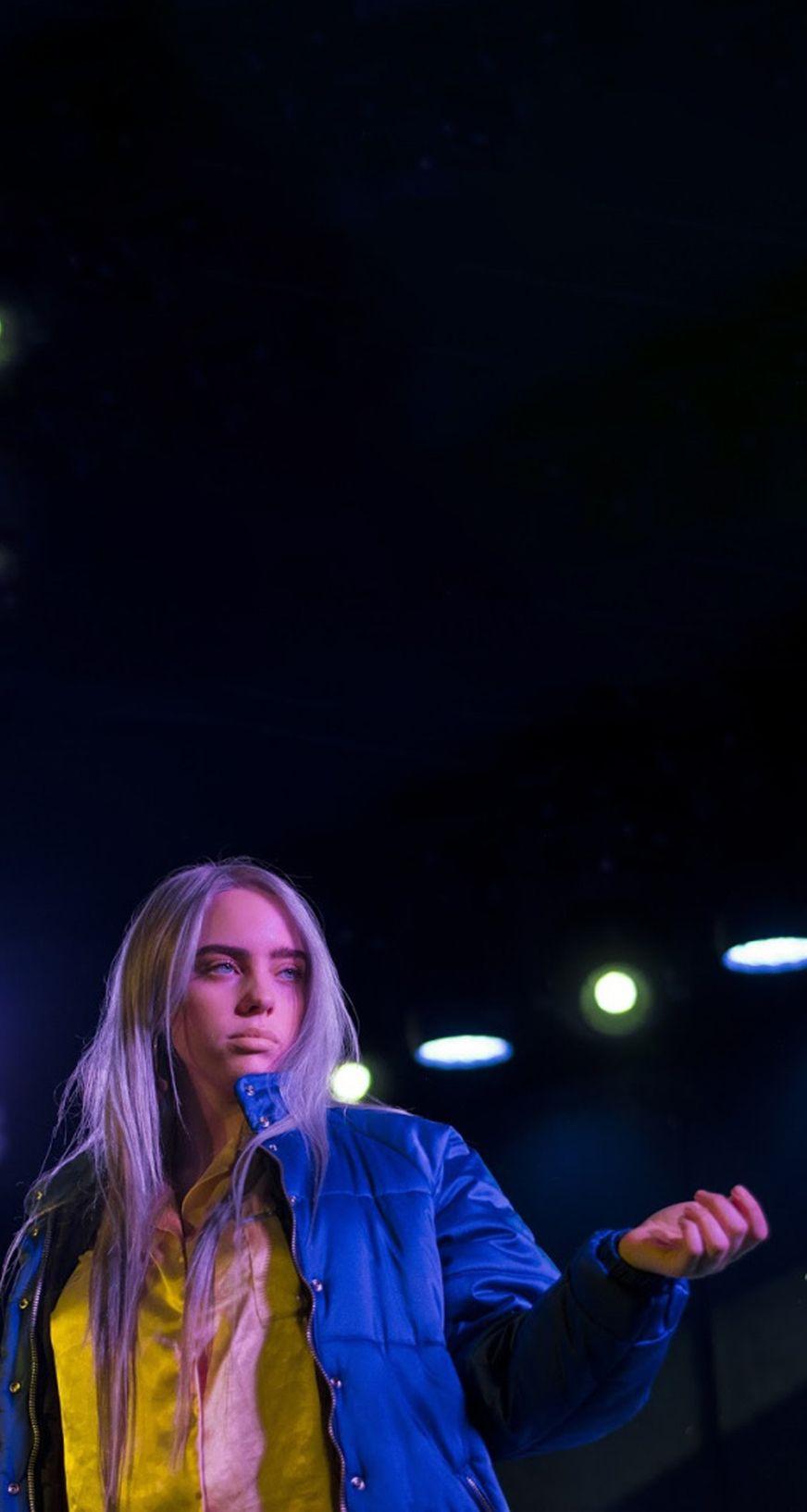 Billie Eilish Lockscreen With Images Billie Billie Eilish Singer