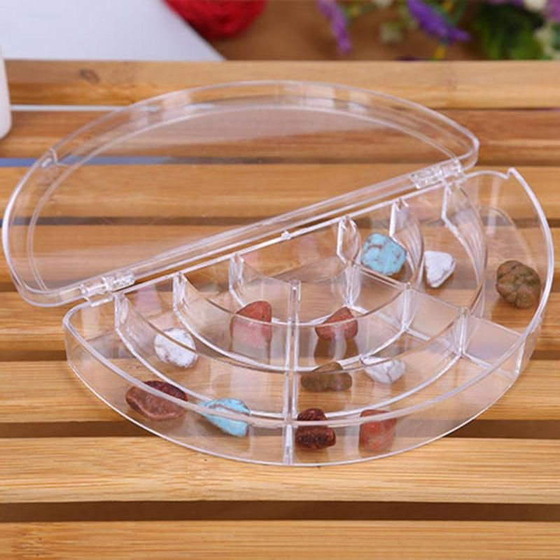 transparent 10 Slots Jewelry Packaging Boxes Wholesale Custom