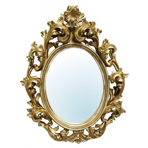 Gold Rococo French Oval Wall Mirror Rococo Pinterest
