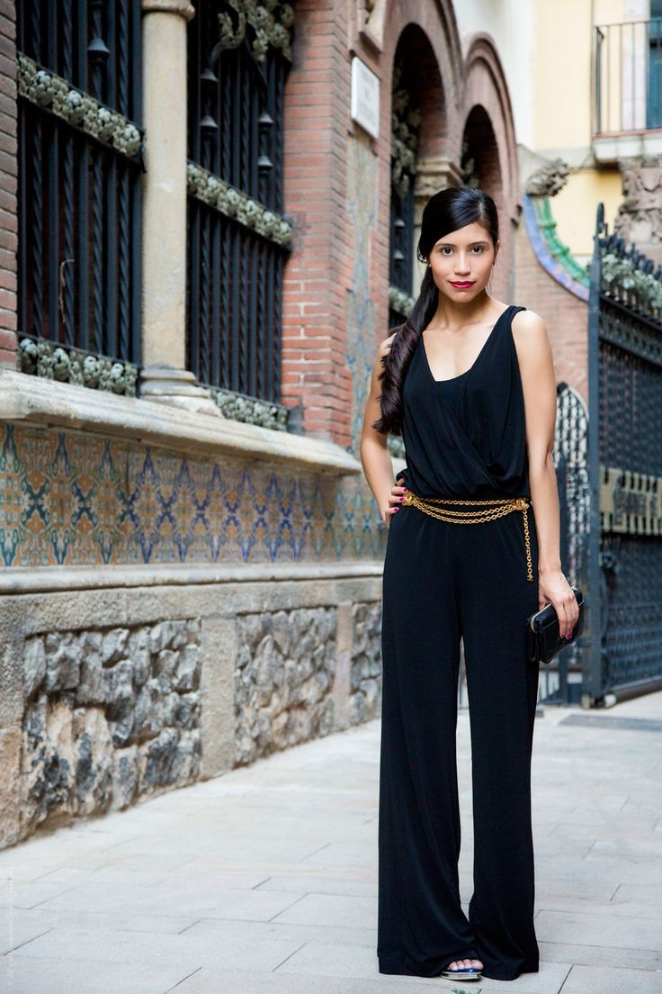 Image Result For How To Wear A Black Jumpsuit Stitch Fixtrunk