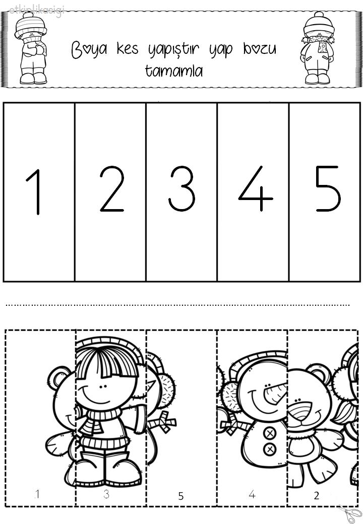 puzzle tamamlama çalışması   kalıp   Pinterest   Rätsel, Wahrnehmung ...