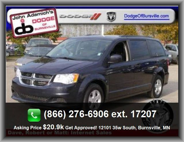 2013 Dodge Grand Caravan Sxt Mini Van Front Shoulder Room 63 7