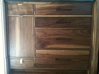 howdy! we're trying to decide if we want to do walnut veneered