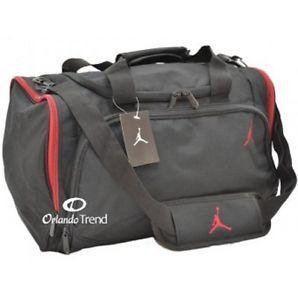 Nike Jordan Jumpman 23 Duffle Bag Gym Black Red