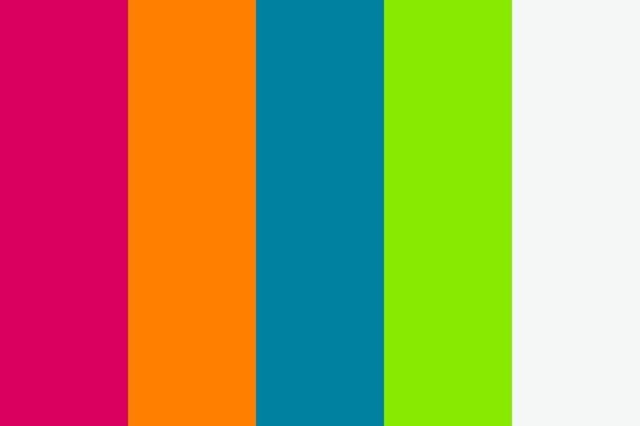 17++ Playful colors ideas