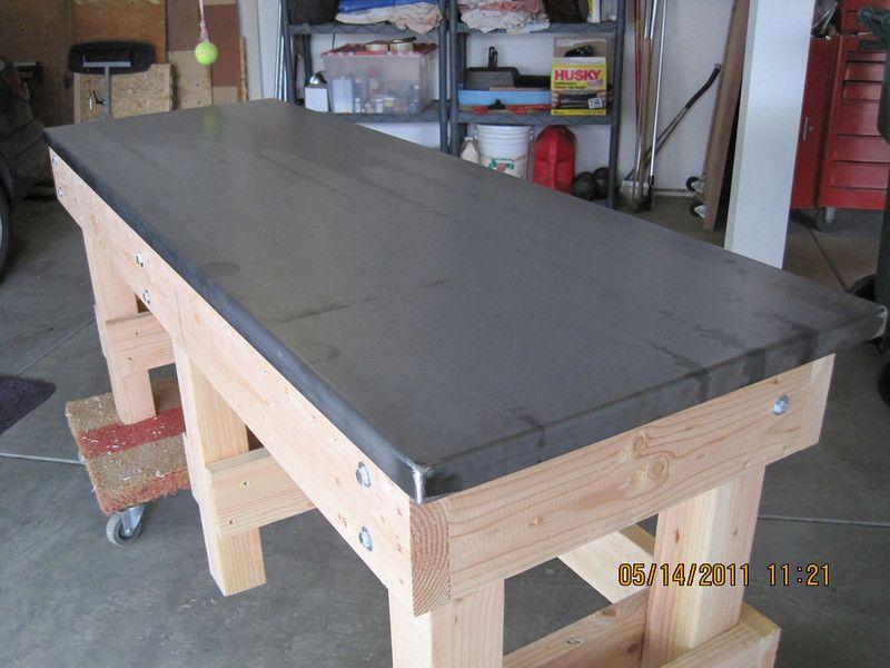 Work Bench Top Ideas The Garage Journal Board Garage Work