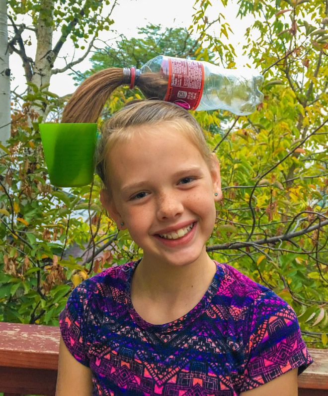 The Best Hairdos From Crazy Hair Day at Schools #crazyhairday