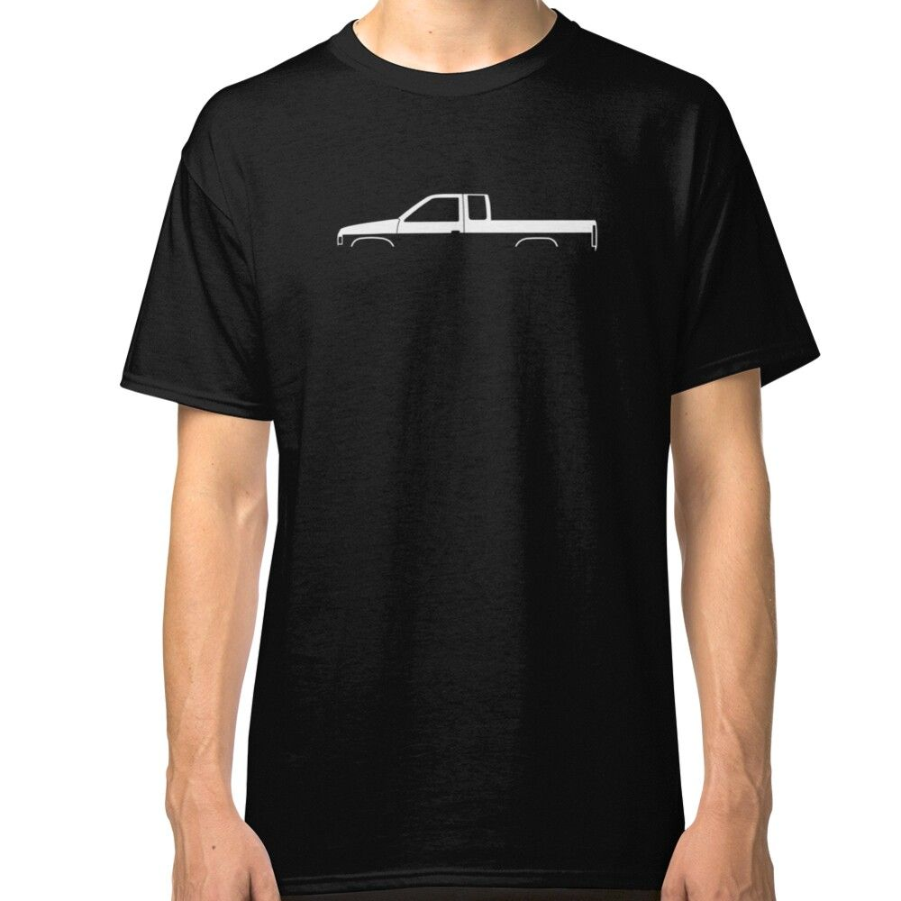 Hardbody D21 Extended Cab Silhouette Classic T Shirt By Turnerco