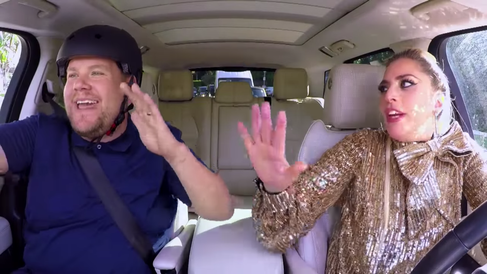 Lady Gaga drives and belts her greatest hits with James Corden on 'Carpool Karaoke'