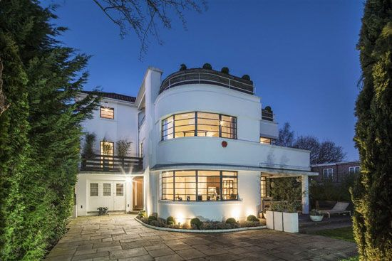 1930s ernst l freud art deco house in hampstead garden suburb