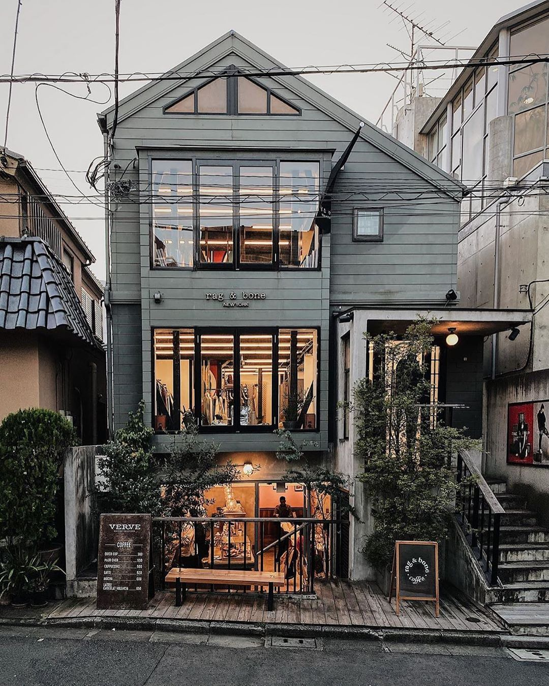 Coffee Shops Of The World On Instagram Danieltriassi At Ragandbonecoffee There S A Phenomenon In Tokyo In Which Ameri In 2020 Coffee Shop Secret Places Instagram
